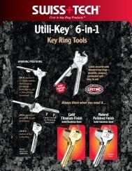 SW019 utili-key 2p FA - Swiss+Tech Products