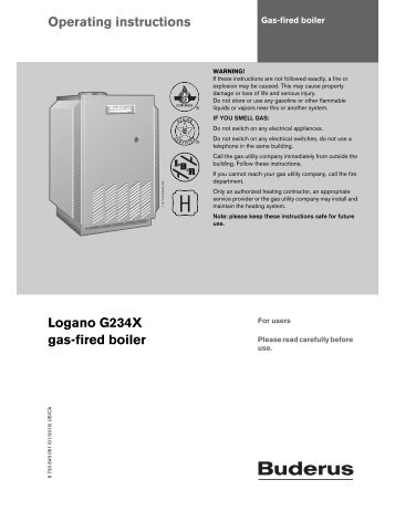 truma combi boiler operating instructions