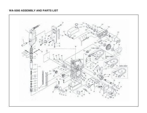 5000 Parts List Jetstream 5000 Parts List Revised E Plex 5031