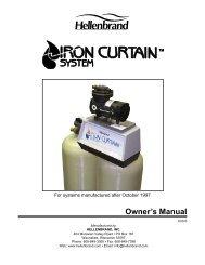 Iron Curtain Manual (73-510) - Waukesha Soft Water Systems
