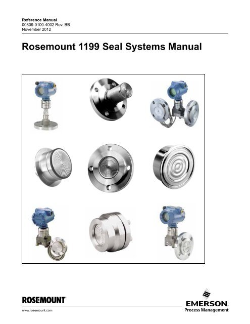 Manual: Rosemount 1199 Seal Systems Manual - Emerson Process ... on fairmont wiring diagram, regal wiring diagram, walker wiring diagram, harmony wiring diagram, becker wiring diagram, ramsey wiring diagram, barrett wiring diagram, wadena wiring diagram,