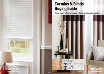 Curtains & Blinds Buying Guide - Made to Measure Curtains ...