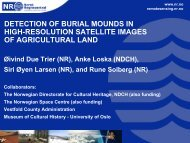 detection of burial mounds in high-resolution satellite images of ...