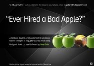 """""""Ever Hired a Bad Apple?"""""""