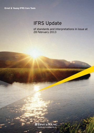 ifrs update Ifrs in your pocket |2017 1  update and refresher for  the ifrs foundation is the organisation that develops international financial reporting standards,.