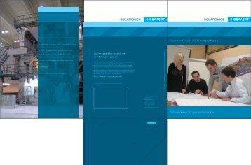 Bekaert Solaronics corporate brochure