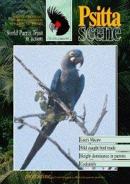 PsittaScene Vol 13.3 Aug 2001 - World Parrot Trust