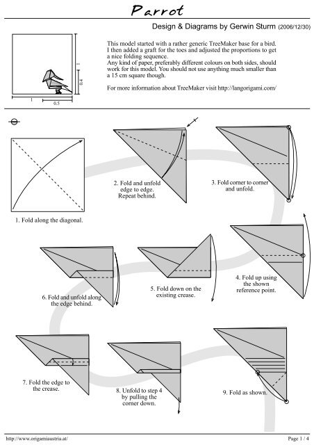 Origami Paper Folding Instructions - a Guide to the Most Common ... | 640x452