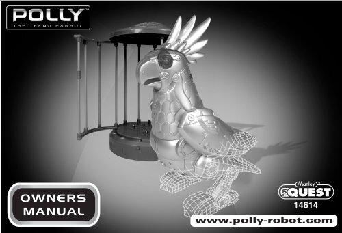 Polly the Tekno Parrot - RobotsAndComputers com