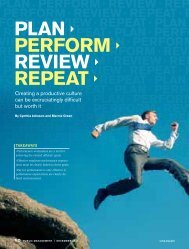 Plan Perform review rePeat - Management Education Group