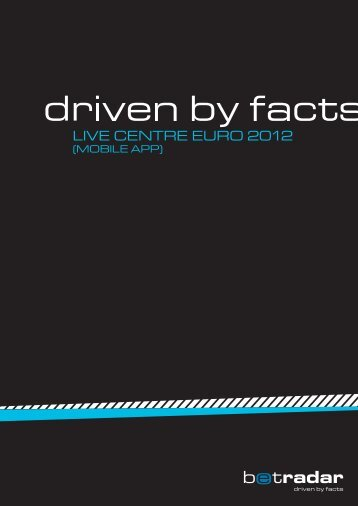 LIVE CENTRE EURO 2012 - Sportradar