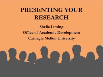 Giving Academic Presentations.pdf - Carnegie Mellon University