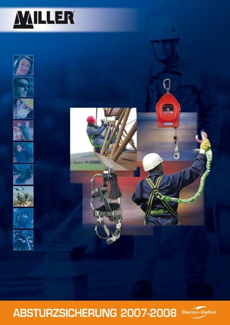 Hebebühnen Fallsicherung Falldämpfer 1,5m Absturzsicherung nach EN361 EN355