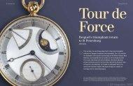 Breguet's triumphant return to St Petersburg - QP Magazine