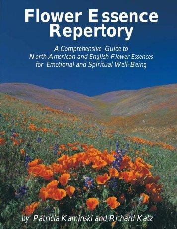 Flower Essence Repertory - Google Sites