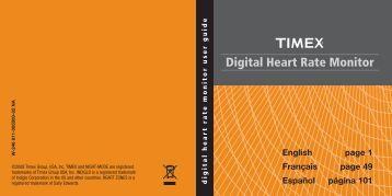 Digital Heart Rate Monitor - Timex.ca