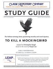 to kill a mockingbird - New Repertory Theatre