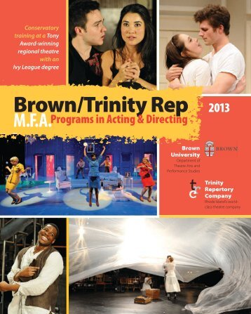 Master of Fine Arts in Directing - Trinity Repertory Company