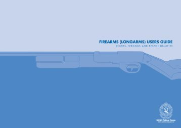 Firearms (Longarms) User Guide - NSW Police Force