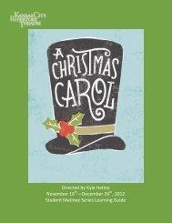 A Christmas Carol - The Kansas City Repertory Theatre