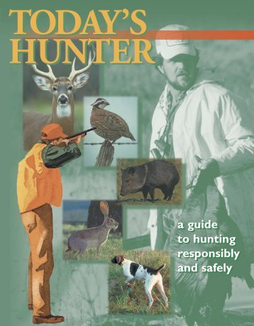 Hunter education course manual [PDF] - Wisconsin Department of ...