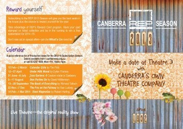 Download the Season Brochure - Canberra Repertory Society
