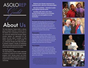 Download our brochure - Asolo Repertory Theatre