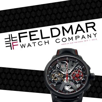 Download this catalog as a PDF. - Feldmar Watch Company