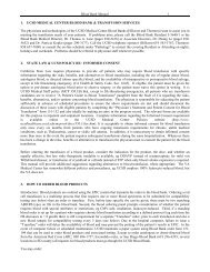 Blood Bank Manual 1 1. UCSD MEDICAL CENTER BLOOD BANK ...