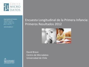 Encuesta Longitudinal de la Primera Infancia: Primeros Resultados 2012
