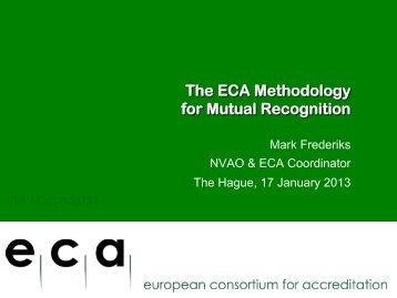 7-Mark Frederiks-ECA - ECA methodology for Mutual