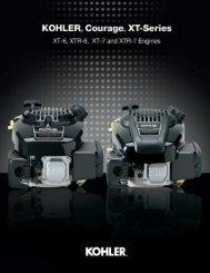 Download Kohler Courage XT Brochure - EPG Engines
