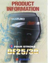 Df30/df25 - American Suzuki Motor Corporation--Media Only - Suzuki