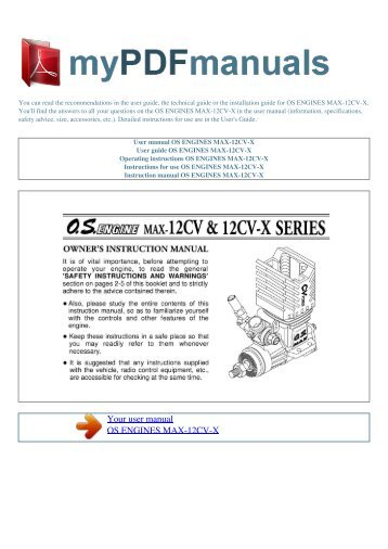 user manual kyosho v one s my pdf manuals rh yumpu com user manual smart watch user manual smart tab model # st 1050