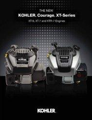 Courage XT Brochure - Kohler Engines