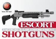 escort tactical & law enforcement shotguns - hatsan arms company