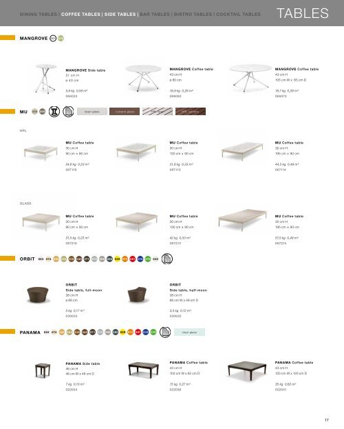 CONTRACT COLLECTIONS 2012 - Dedon