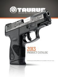 2013 full line catalog - Taurus