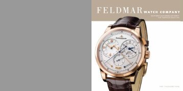download pdf - Feldmar Watch Company
