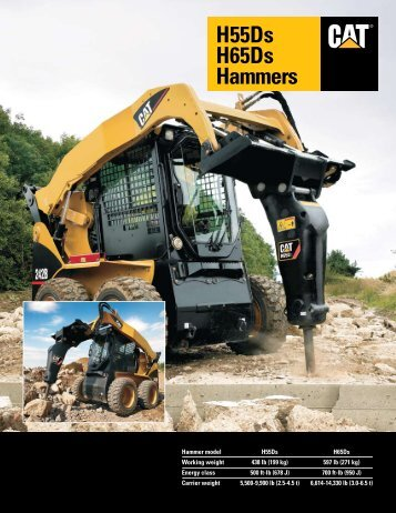 H55Ds H65Ds Hammers - Unimaq