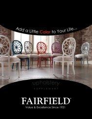 supplement - Fairfield Chair