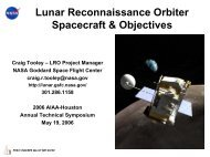 Lunar Reconnaissance Orbiter - Nasa