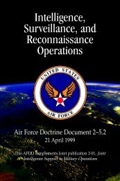 Air Force Doctrine Document 2-5.2