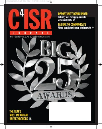 to Download the PDF - C4ISR Journal