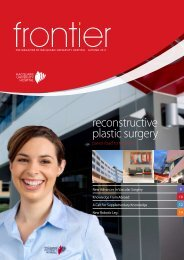 reconstructive plastic surgery - Macquarie University Hospital