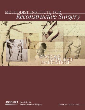 Reconstructive Surgery - Methodist Hospital