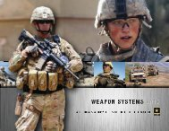 2012 Weapon Systems Handbook - Networking the Soldier - U.S. ...