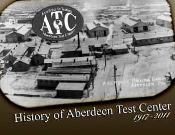 PDF File - Aberdeen Test Center - U.S. Army