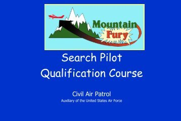 Mtnfury   Slides 168 Pdf   Civil Air Patrol
