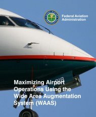 Maximizing Airport Operations Using the Wide Area ... - FAA